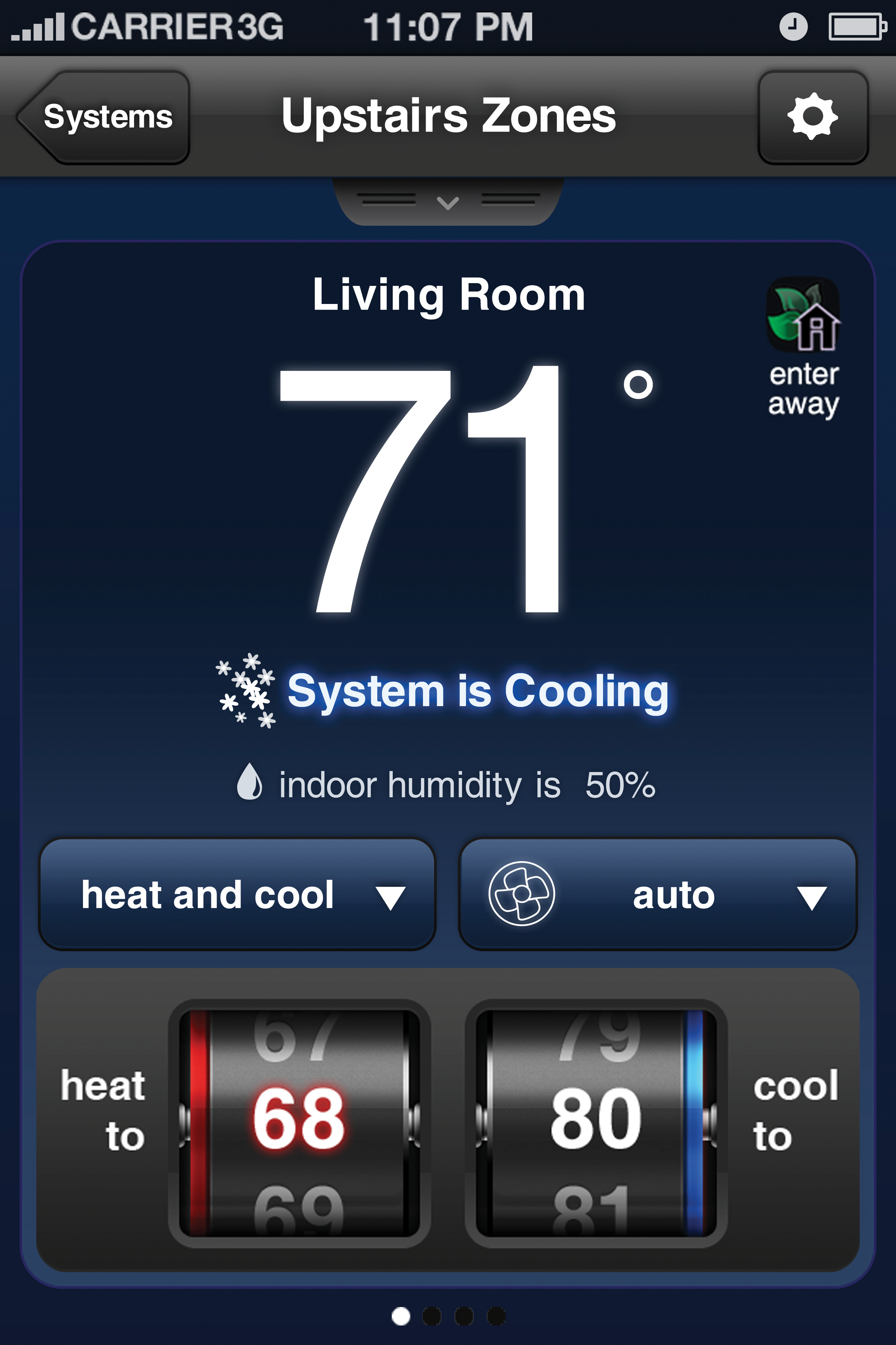 Energy use management apps, like Nest and iComfort, can help consumers monitor their energy use.