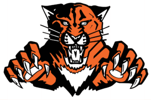 Maxwell Public Schools logo of its mascot, the wildcat. 2017