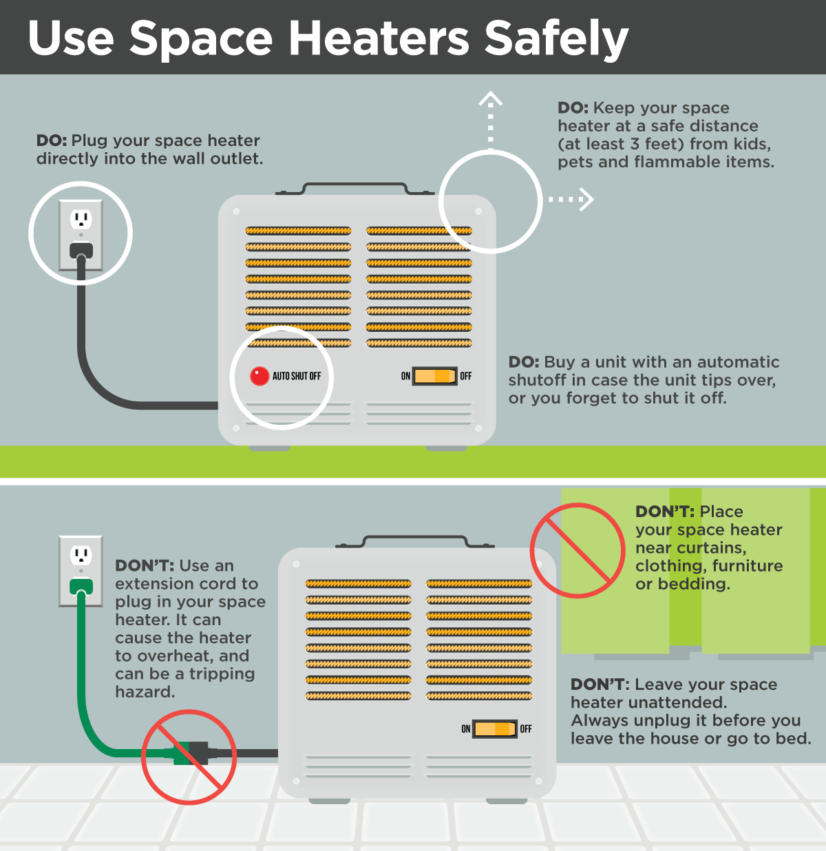 Dawson Public Power District 187 Use Space Heaters Safely