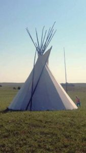 Lida Weekly of Hershey offers a tipi camping experience for the adventurous traveler. Courtesy photo.