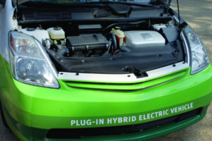 Plug in hybrid electric vehicle