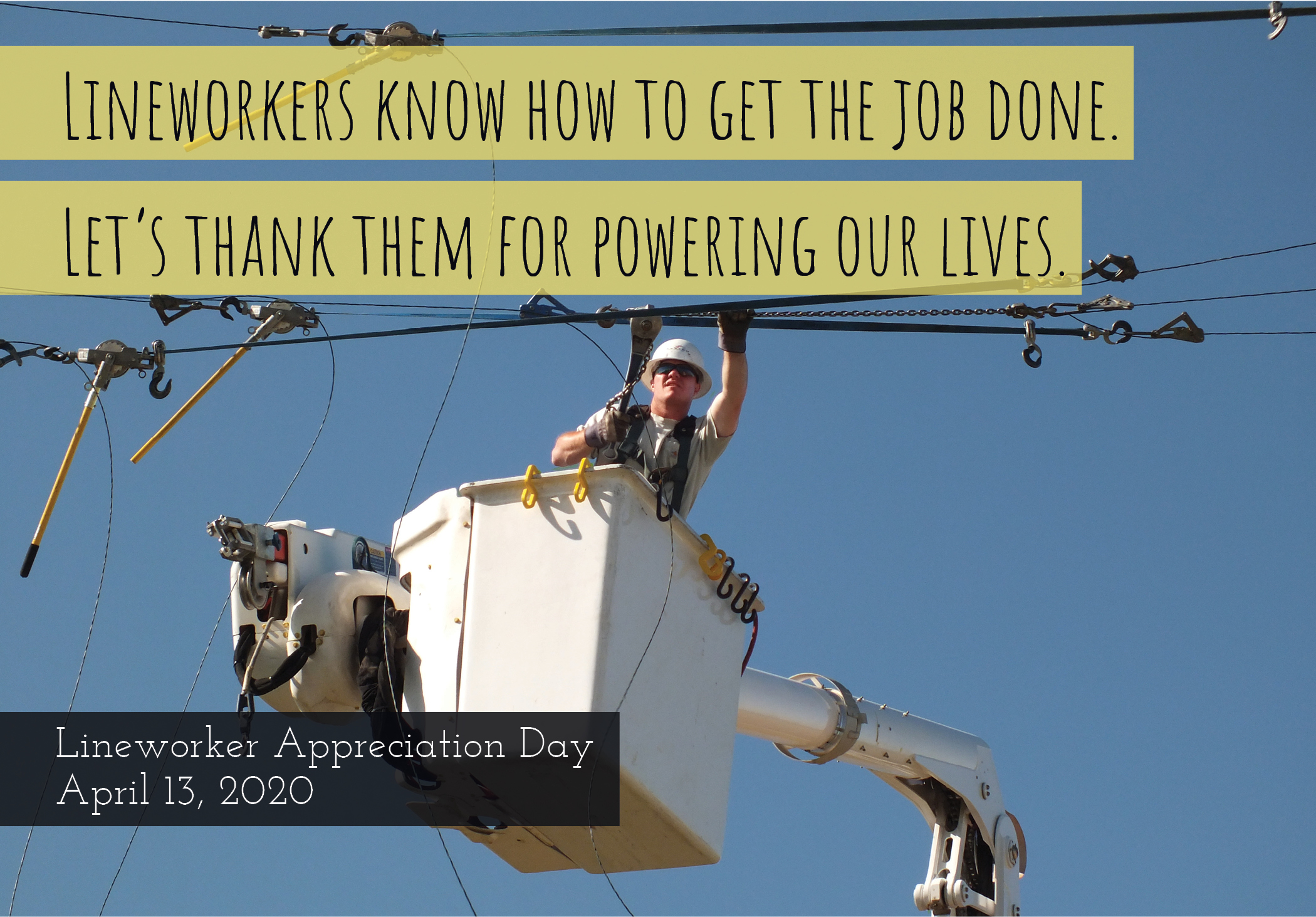 2020 Lineworker Appreciation Day