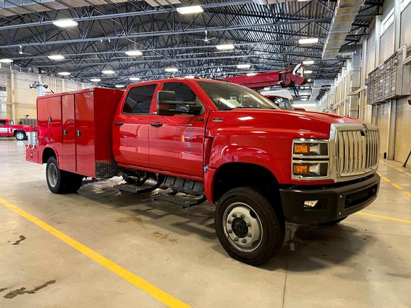 commercial-grade CV International truck